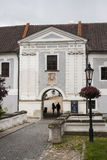 Jindrichuv Hradec Castle, front gate, Czech Republic Stock Photo