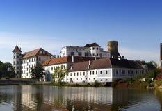 Jindrichuv Hradec castle in South Bohemia, Czech Republic Stock Images