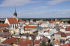 Jindrichuv Hradec, Czech Republic Stock Images