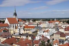 Jindrichuv Hradec, République Tchèque Images stock