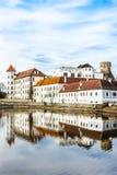 Jindrichuv Hradec, Repubblica ceca Fotografia Stock