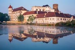 Jindrichuv Hradec slott Royaltyfri Fotografi