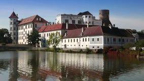 Jindrichuv Hradec in South Bohemia, Czech Republic stock footage