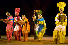 Jindwa-Folk dance of punjab,india Stock Photos