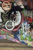 Jinete de BMX Foto de archivo libre de regalías