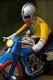 Jinete de la motocicleta Fotografía de archivo libre de regalías