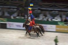 Jinete del Cossack Imágenes de archivo libres de regalías