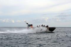 Jinete del mar de Indonesia Foto de archivo libre de regalías