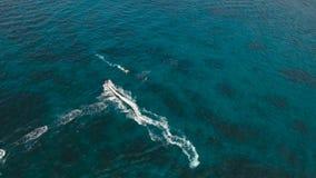 Jinete en el esquí del jet Isla Filipinas de Boracay metrajes