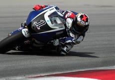 Jinete español Jorge Lorenzo de MotoGP Imagen de archivo