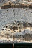 Jinete medieval de Madara del alivio de la roca a partir del período de primer imperio búlgaro, lista del patrimonio mundial de l fotos de archivo libres de regalías