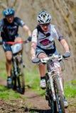 Jinetes de la bici Foto de archivo