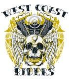 Jinetes de la costa oeste Fotos de archivo libres de regalías