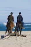 Jinetes del caballo Fotografía de archivo