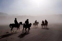 Jinetes del caballo Imagen de archivo libre de regalías