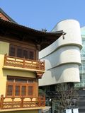 Jing ein Tempel, Shanghai stockbild