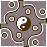 Jing Jang symbol Royalty Free Stock Images