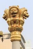 Jing'an Temple, Шанхай Стоковое фото RF