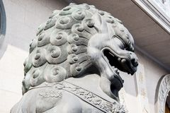 Jing'an Temple, Шанхай Стоковые Фотографии RF