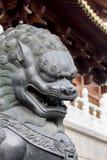 Jing'an Temple, Шанхай Стоковые Фото