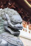 Jing'an Temple, Шанхай Стоковые Изображения RF