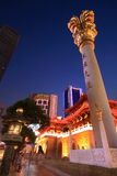 Jing'an Temple. Is located on West Nanjing Road in Shanghai, China Stock Photo