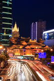 Jing'an Temple. Is located on West Nanjing Road in Shanghai, China Royalty Free Stock Photography