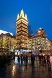 Jing'an Temple Imagen de archivo libre de regalías