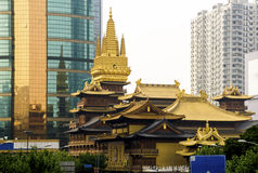 Jing An Temple Stock Photography
