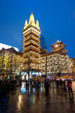 Jing'an Temple Royalty Free Stock Image