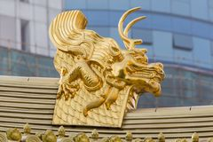 Jing'an Temple, Shanghai Stock Image