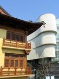 Jing um templo, Shanghai imagem de stock
