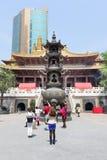 Jingan buddhist temple Stock Photography