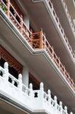 Jingan Temple Balconies Stock Photography