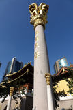 Jingan Temple Stock Photography