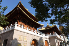 Jingan Temple Royalty Free Stock Photography
