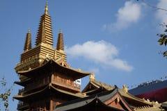 Jingan Temple Stock Photos