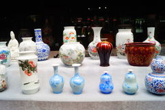 Jingdezhen porcelain exhibition sales. In Shenzhen cultural industry fair, china Stock Images