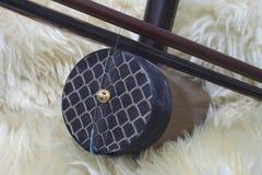 Jinghu, instrumento musical de los chineses Imágenes de archivo libres de regalías