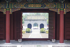 Jingjiang Royal Tombs, Guilin, China Stock Images