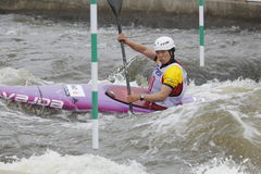 Jingjing Li In Water Slalom World Cup Race Stock Photo