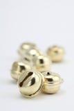 jingle золота колоколов стоковая фотография