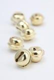 jingle золота колоколов стоковые фото