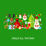 Jingle All The Way Greeting Photos libres de droits
