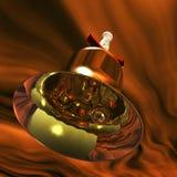 Jingle bell. Digital visualization of  a jingle bell Stock Images