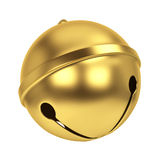 Jingle bell. 3d illustration isolated on white background Stock Image