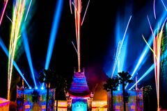 Free Jingle Bell Jingle Bum Spectacular Fireworks Show At Hollywood Studios 180 Stock Photography - 168845802