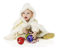 Jingle-Bell Princess Royalty Free Stock Photography