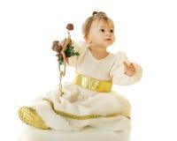Jingle Bell Snow Princess Stock Image