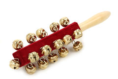 Jingle bell stick Stock Images